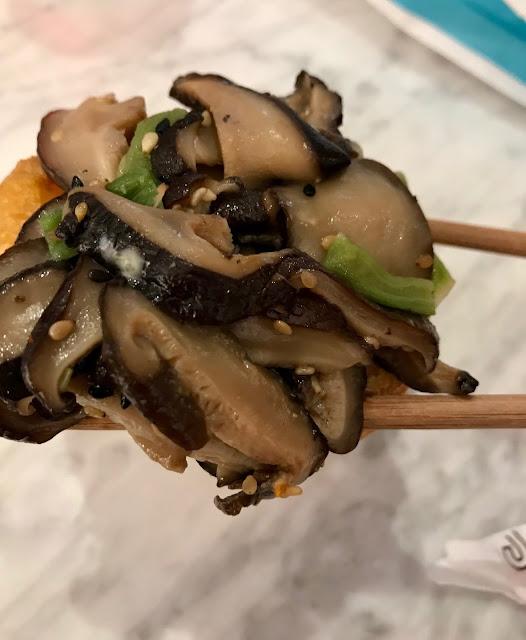 Sushi Jiro, Chadstone, shiitaki inari
