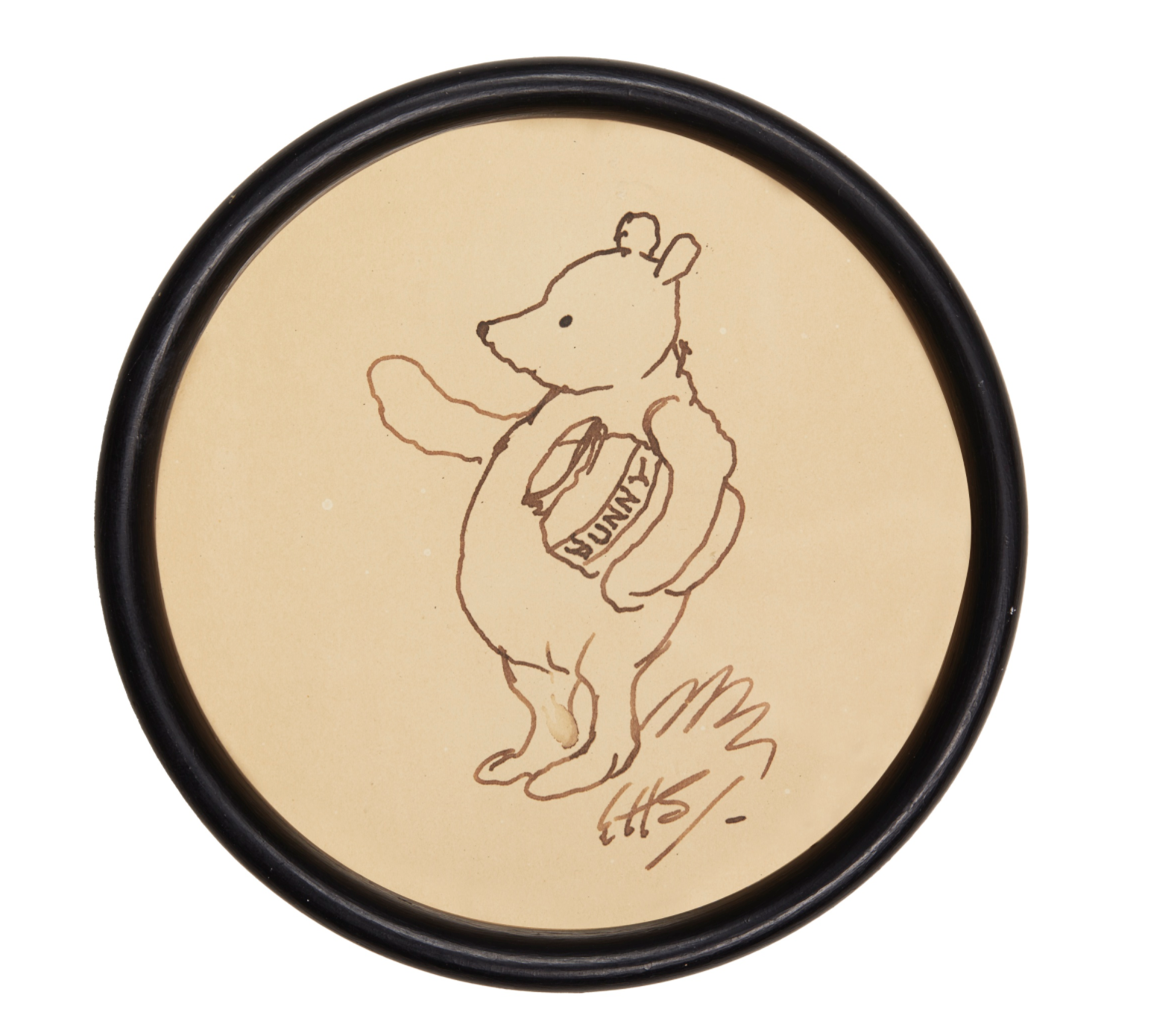 attempted bloggery e h shepard winnie the pooh and the honey jar