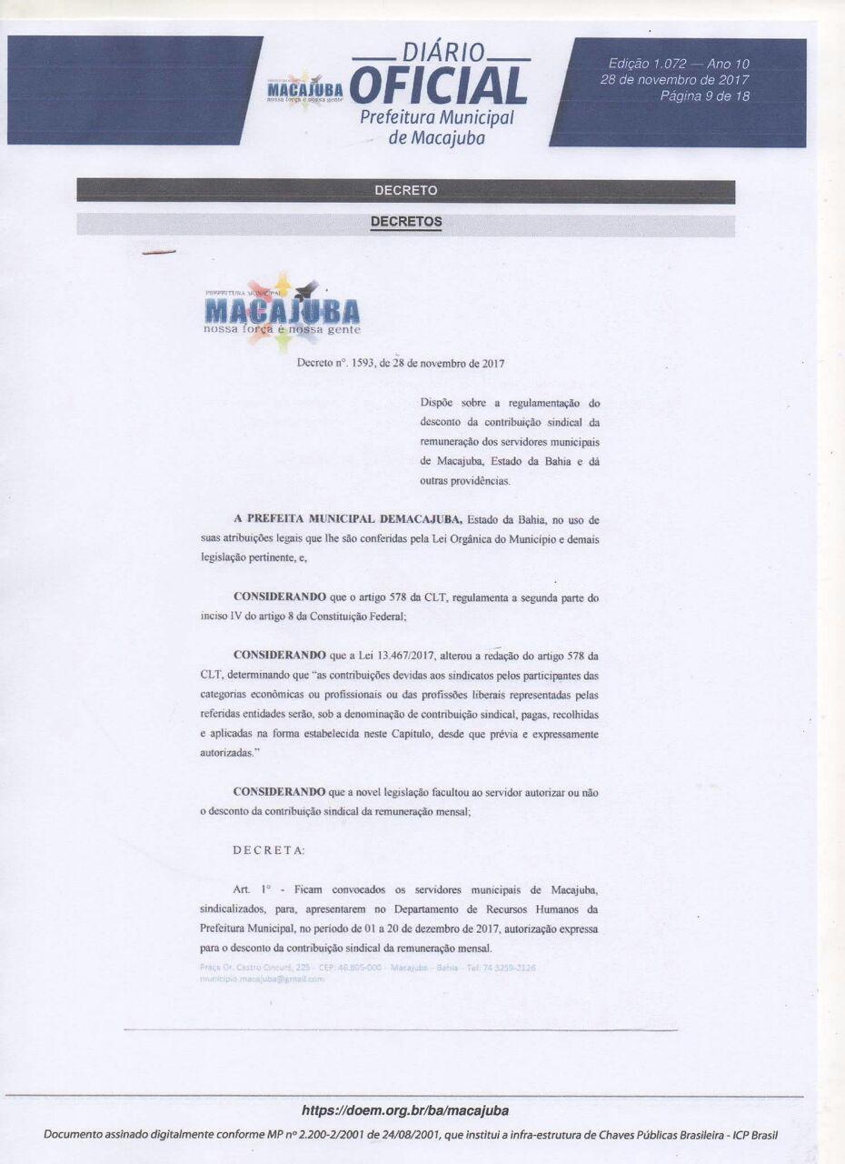 60501e2fc30ee Blog Deixa Comigo Macajuba (DCM)  SINPROMMA APLB SINDICATO de ...