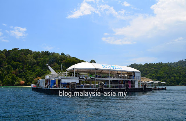 Borneo Reef World Pontoon