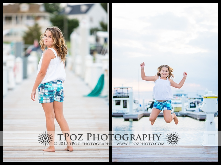 Chesapeake Bay Beach Club Child Portrait