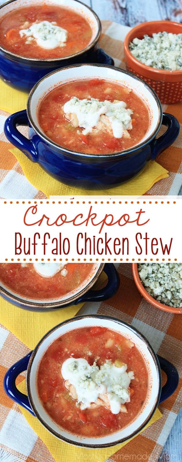 Crockpot Buffalo Chicken Stew