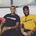 Alex Iwobi shares photo with his uncle, JayJay Okocha