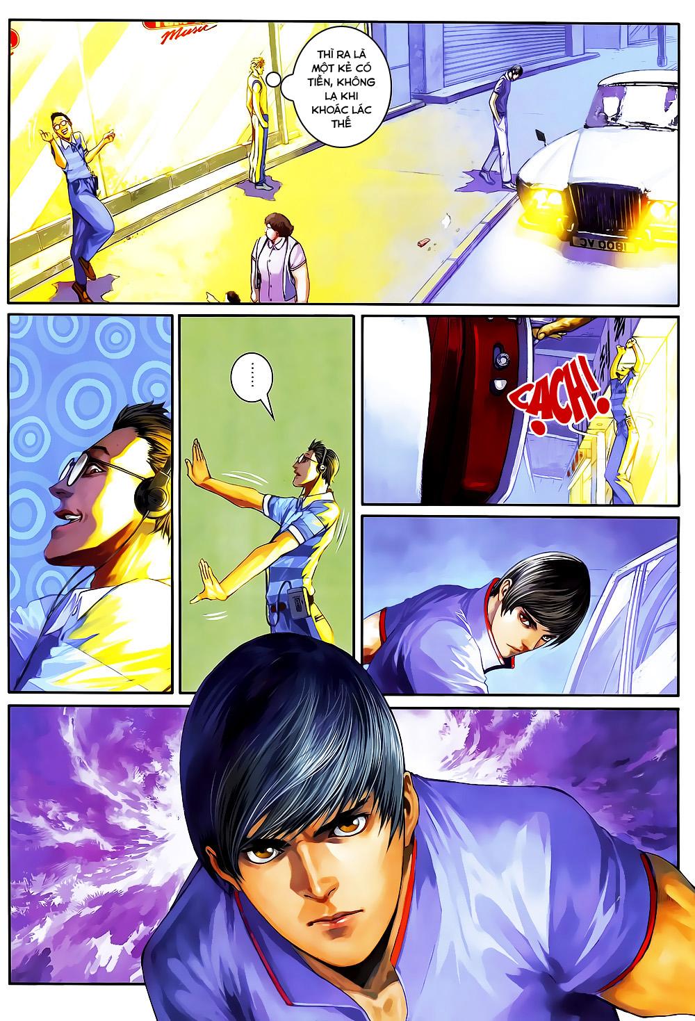 Quyền Đạo chapter 4 trang 11
