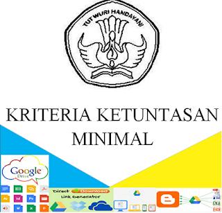 Contoh Format Kriteria Ketuntasan Minimal ( KKM ) Jenjang SD/MI SMP/MTs Terbaru