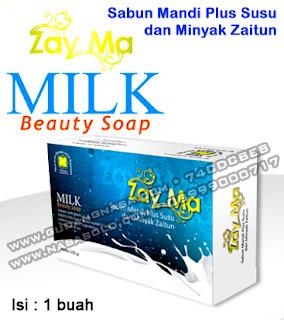 MBS MILK BEAUTY SOAP (SABUN SUSU) Rp.18.000,-
