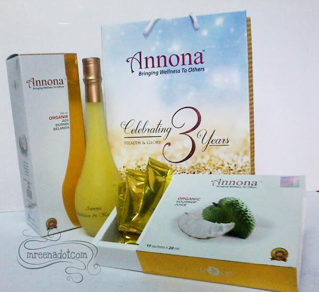 Kesihatan dan Kehidupan Lebih Selesa Dengan Jus Annona
