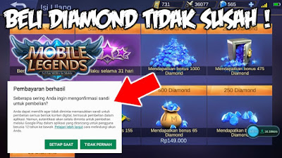 Cara Beli Diamond Mobile Legend