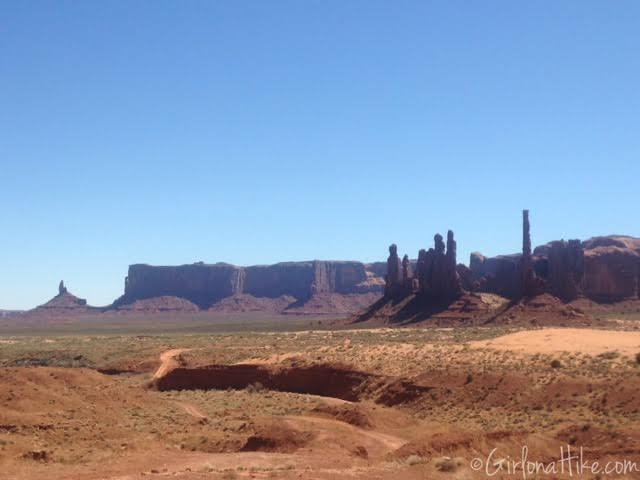 Monument Valley Wildcat Trail map