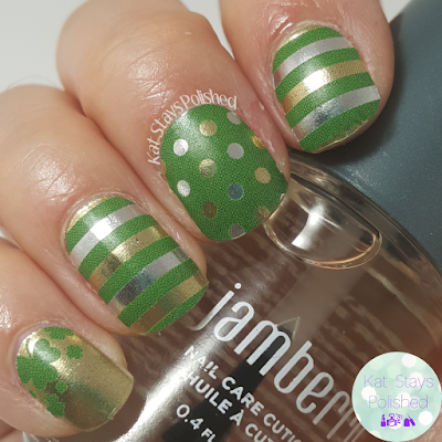 Jamberry Bit O'Luck | Kat Stays Polished