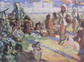 Lukisan Karya Basoeki Abdullah