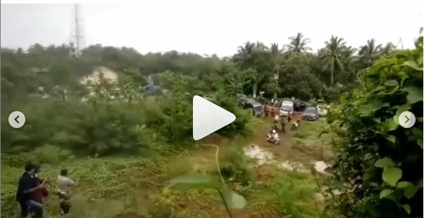 Video Kepanikan Warga Melihat Gelombang Air Laut Kembali Naik