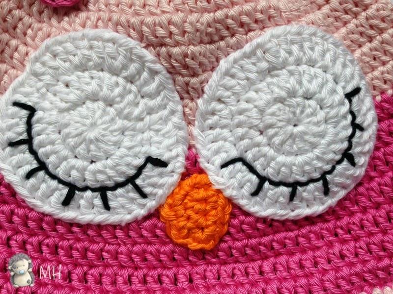 ojitos búho a crochet
