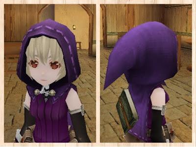 フード・紫1染色