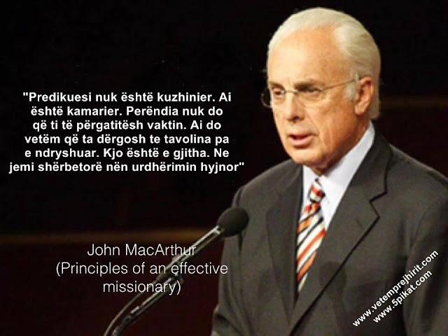 Predikuesi, predikimi, macarthur shqip, thenie te krishtera,