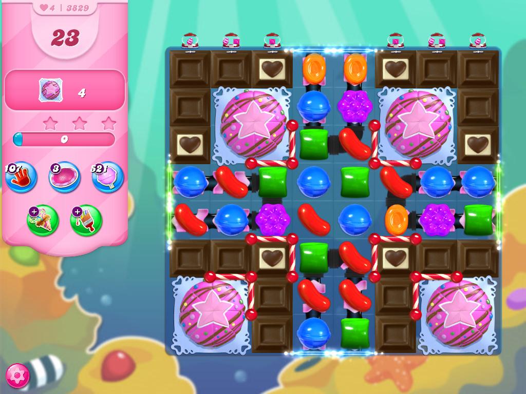 Candy Crush Saga level 3829