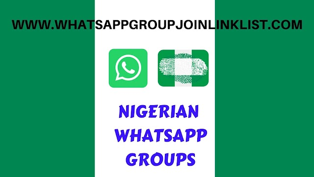 Nigerian WhatsApp Group Join Link List