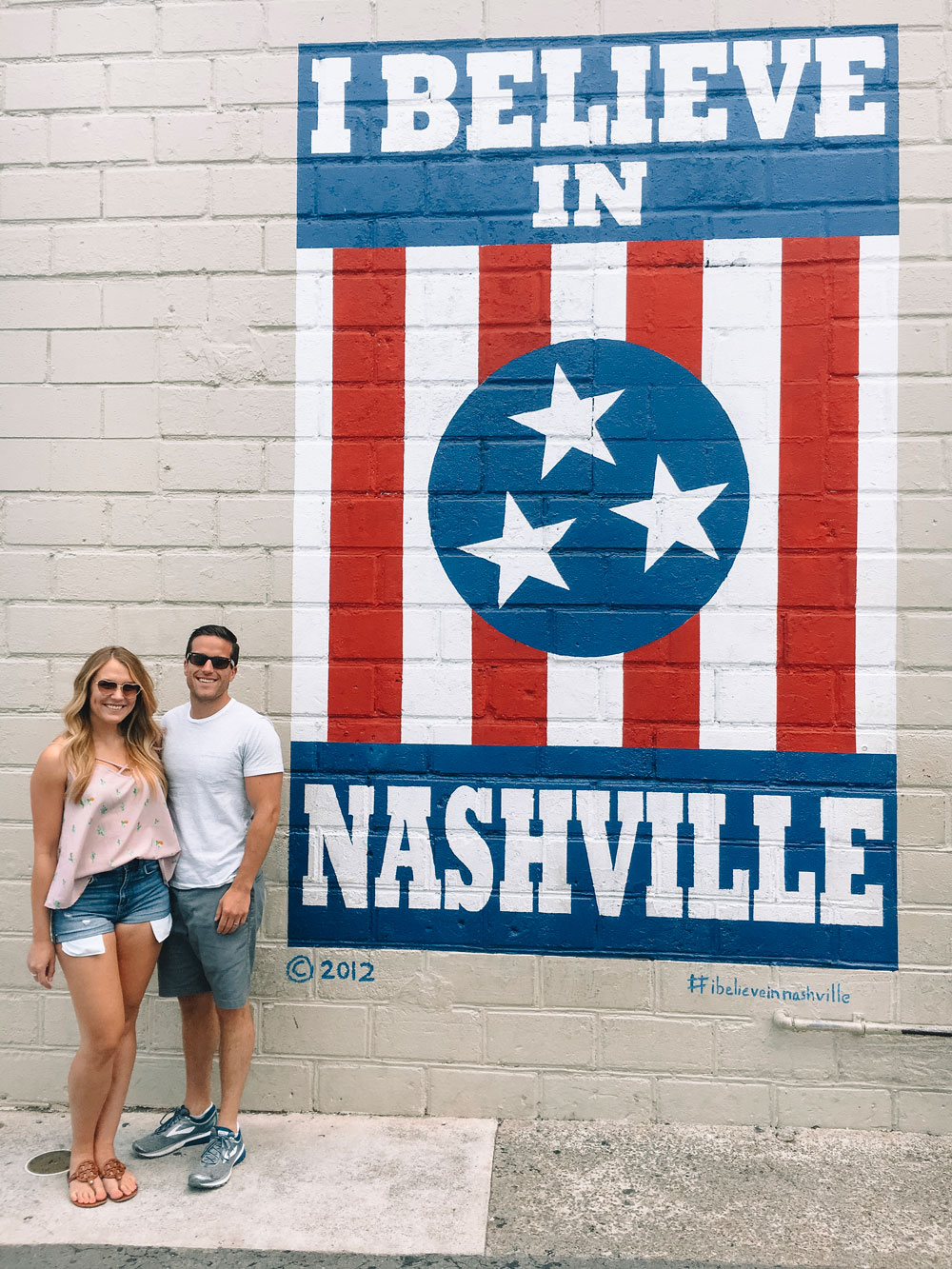 i believe in nashville mural