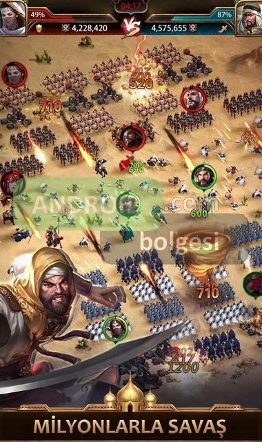 Fetih: Taht Savaşları Mod Apk