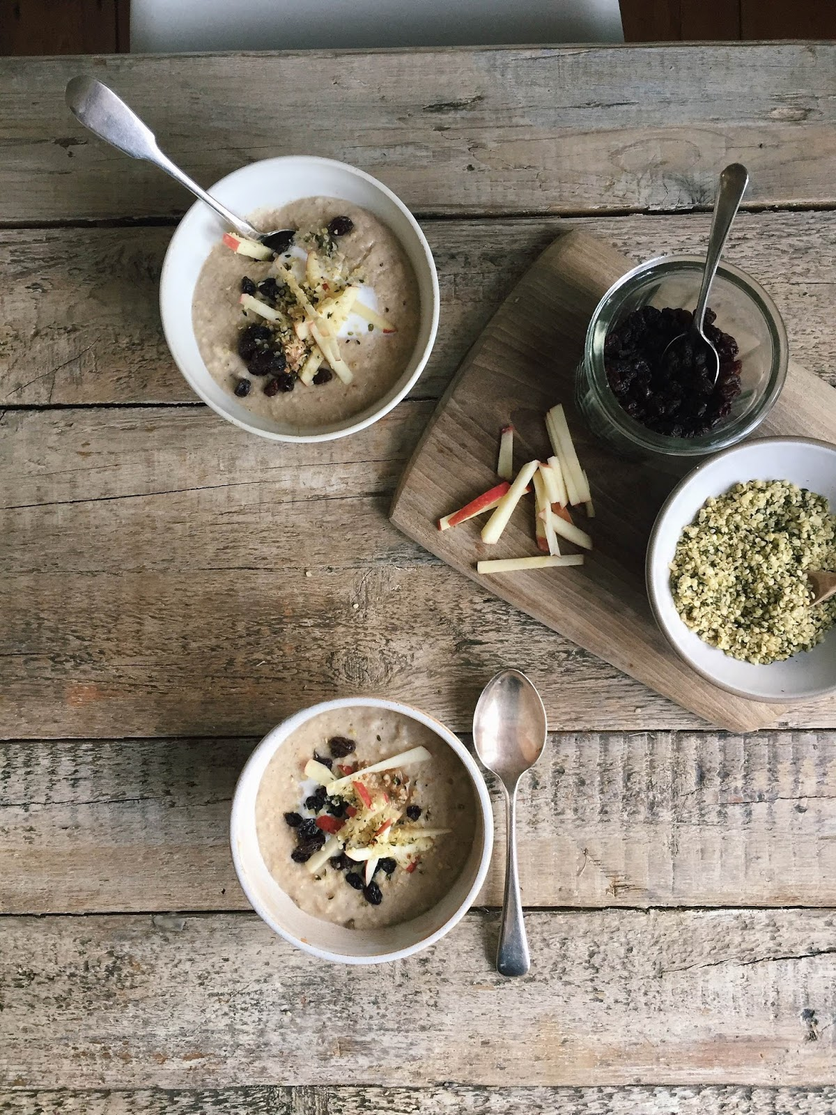 Cinnamon Spiced Morning Porridge Bowl...