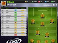 Formasi Arsenal dan Tottenham Hybrid di Top Eleven (4-2-3-1) Terkuat