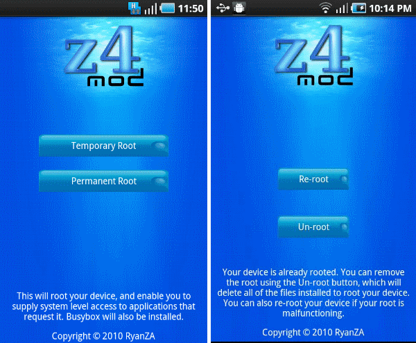 Android Apk Download: z4root app for android free download