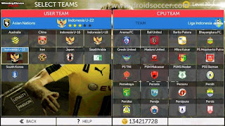 FTS Winning Eleven 2018 by Aslan Apk + Data Obb Android