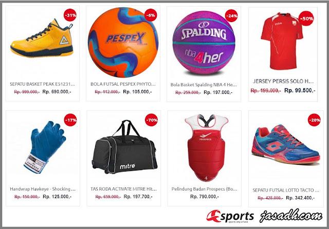 Asports.id Toko Olahraga Online Murah, Lengkap, Aman dan Terpercaya