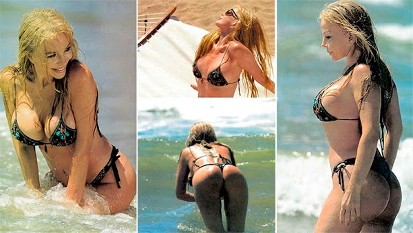 Graciaela Alfano: Microbikini, playa y amores esporádicos
