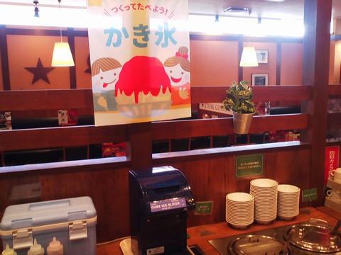 ビュッフェコーナー:かき氷 ステーキガスト一宮尾西店13回目