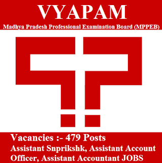 Accountant, Assistant, freejobalert, Graduation, Latest Jobs, Madhya Pradesh, Madhya Pradesh Professional Examination Board, MP, MPPEB, Sarkari Naukri, VYAPAM, vyapam logo