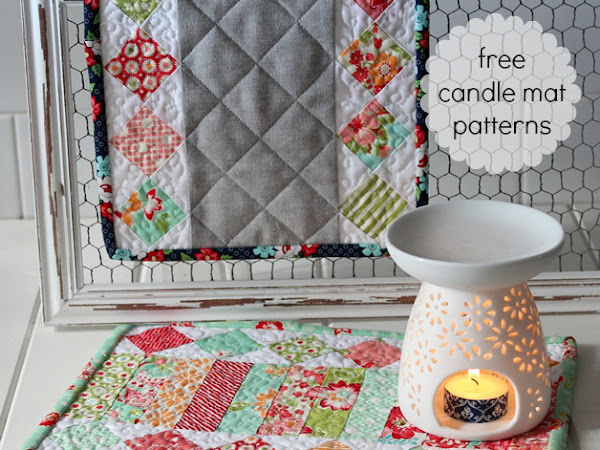 Incandescence- Free Candle Mat Patterns