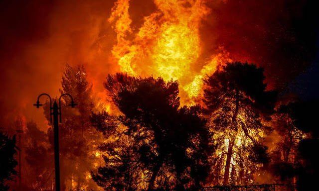 Eπιβεβαίωση pronews.gr: Τα καλώδια της ΔΕΗ οι δήθεν «εμπρηστές πράκτορες που έκαψαν την Κινέτα»!