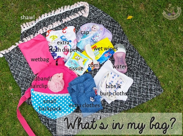 Baby bag must haves