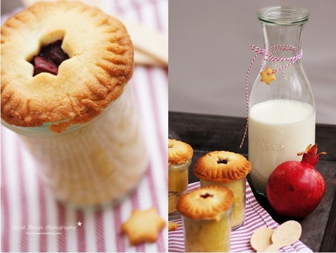 Granatapfel Pie im Glas backen