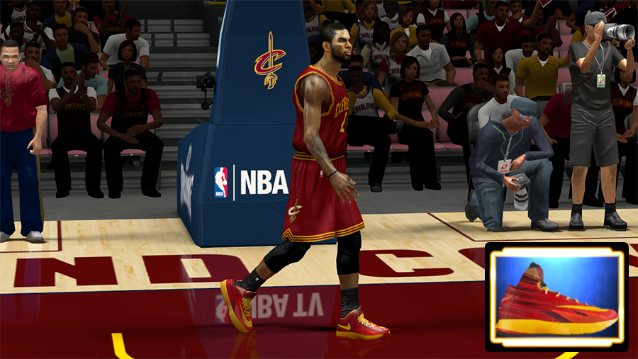 NBA 2K14 Shoes Mod HyperRev Nike CAVS
