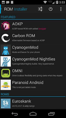 ROM Installer 1.2.6.4 Apk Terbaru For Android