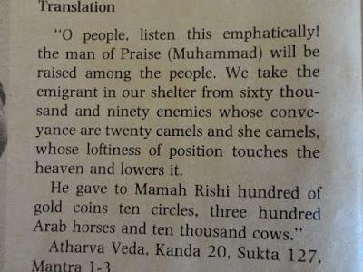 Nabi Muhammad adalah Nabi yang ditunggu umat Hindu? Kalimat itu pasti mengejutkan bagi kebanyakan umat Islam maupun umat Hindu, bahkan mungkin bagi umat di luar kedua agama itu. Betapa tidak, syariat dari dua agama itu sangat jauh berbeda. Mungkinkah Nabi Muhammad adalah Nabi dari kedua agama itu?