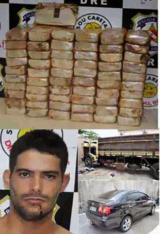 POLÍCIA CIVIL DO PARÁ FLAGRA ESQUEMA DE TRÁFICO DE DROGAS E APREENDE MAIS DE 60 KG DE COCAÍNA