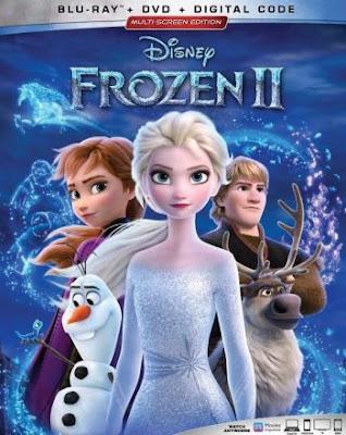 Frozen II 2019 Eng BRRip 480p 300Mb ESub x264