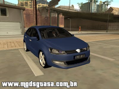 Vw Polo 2011 Europeu para GTA San Andreas