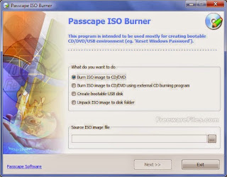 Passcape ISO Burner 1.4.0 Free Download