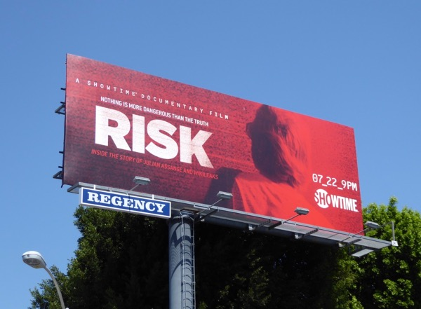 Risk documentary billboard
