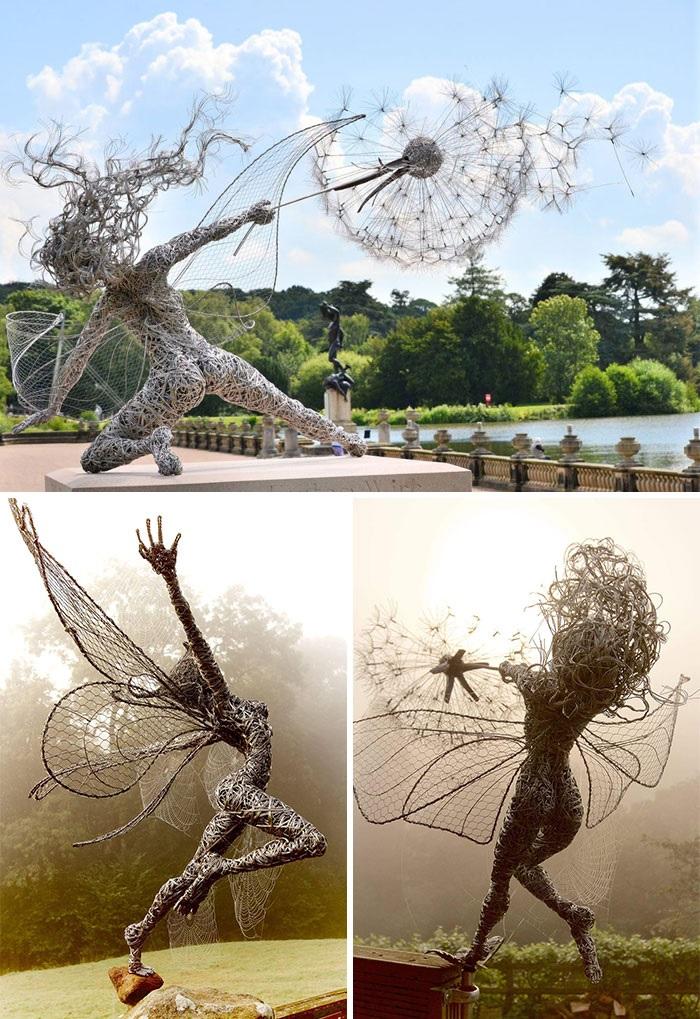 Foto çuditëse skulpturash që sfidojnë gravitetin dhe bëjnë t'i shohim sërish dhe sërish