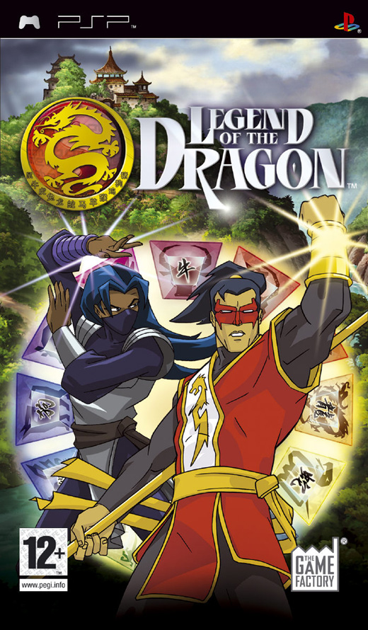 Legend of The Dragon - PSP - ISO Download