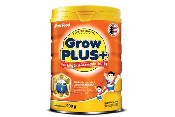 Dòng sữa tốt cho bé từ 1-3 tuổi chậm tăng cân