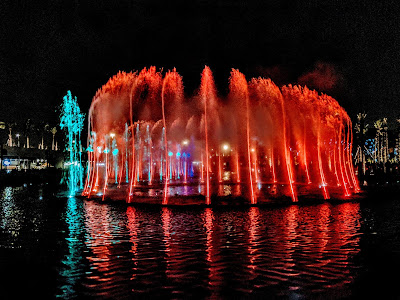 The Musical Fountain at the Sheikh Jaber Al-Ahmed Cultural Centre