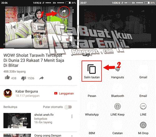 cara download video youtube ke galeri tanpa aplikasi