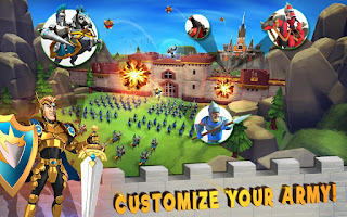 Lords Mobile Mod Apk+Data v1.34 For Android (VIP Features)