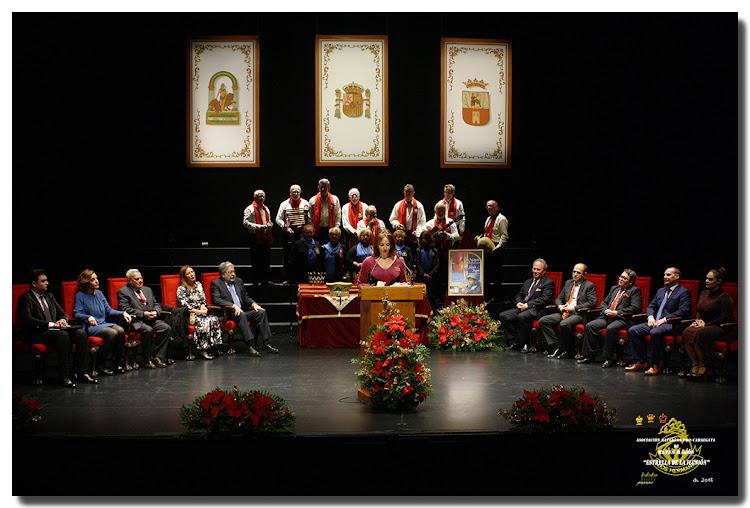 Presenta el acto: Dª. Valme J. Caballero Holgado